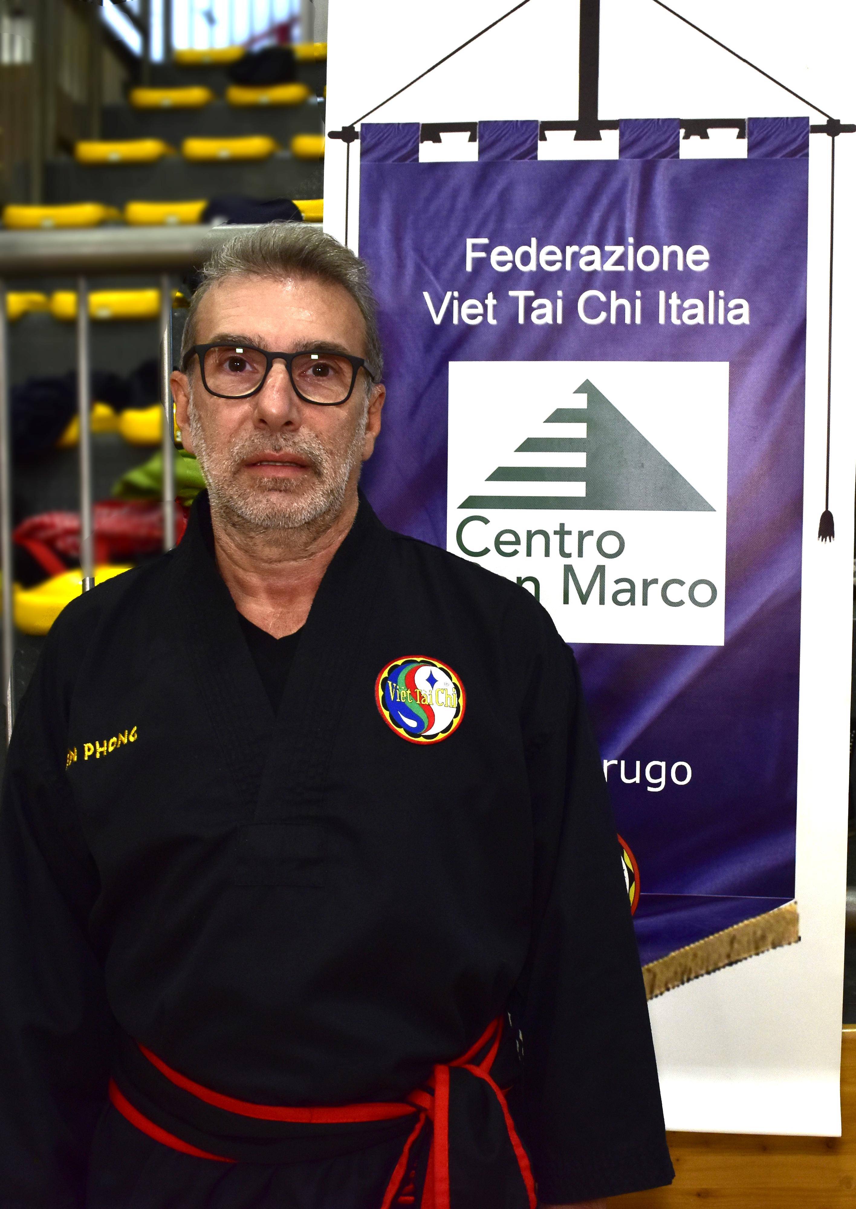 Istruttore Michele Piva III Dang del Centro San Marco