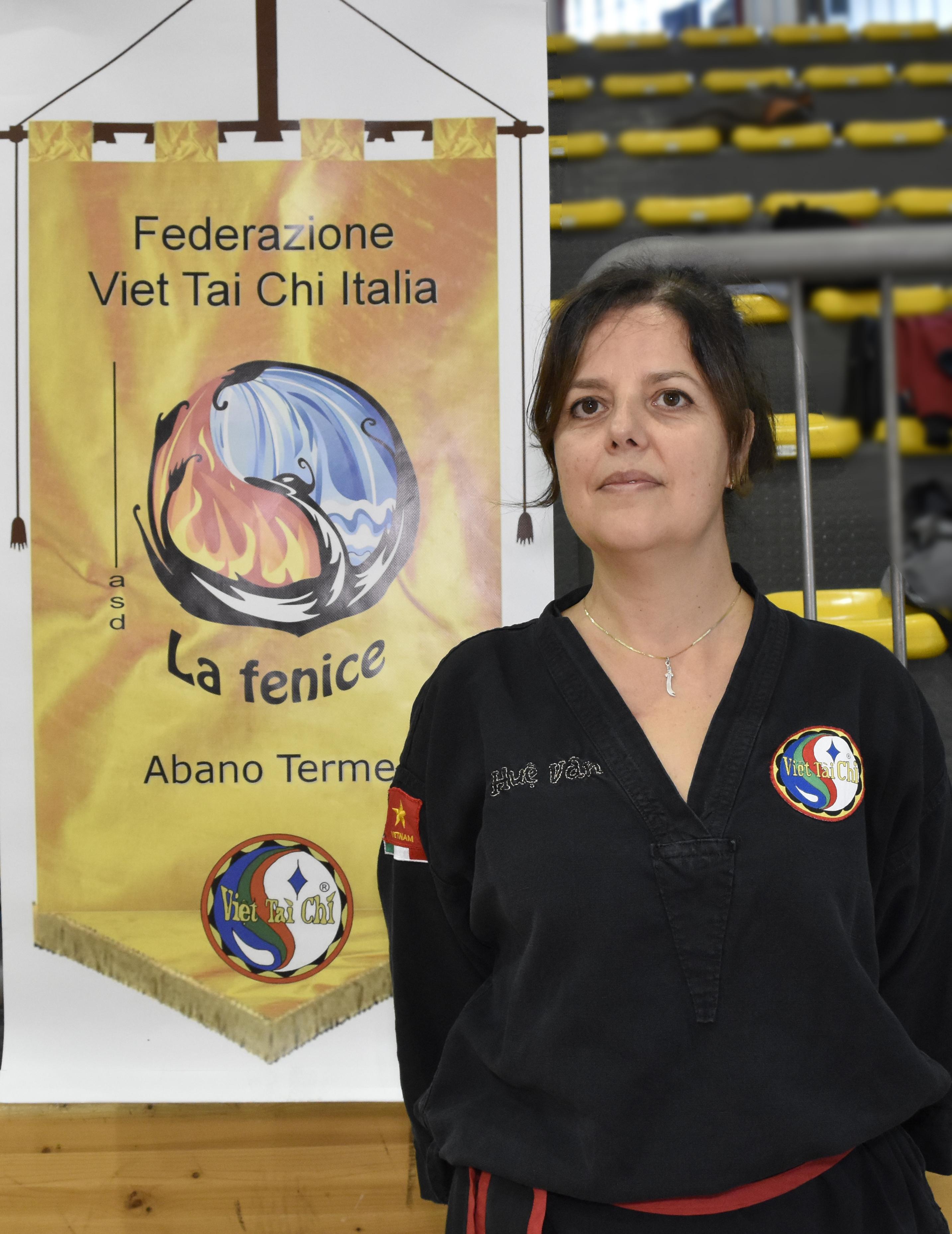 Istruttore III Dang Claudia Minichiello centro La Fenice